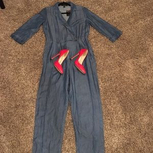 Faux denim Jumpsuit